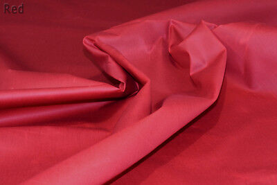 Seconds Waterproof MARINE CANVAS British Wax Cotton Antique material Red 2FWxR
