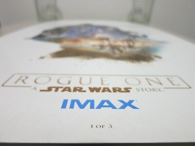 Rogue One: A Star Wars Story Limited Edition Poster 1 of 3 IMAX