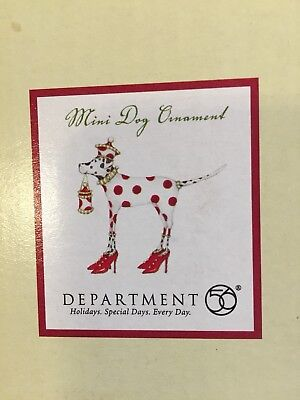Department 56 Patience Brewster Mini Dog Ornament Dalmatian