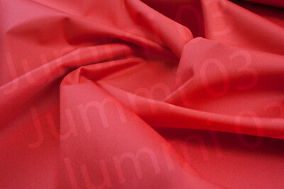 Seconds Waterproof Fabric 600 denier boat seat cover material Red 7ozR