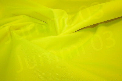 Seconds Waterproof Fabric 600 denier boat seat cover material Flo Yellow 7ozR