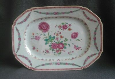 Assiette porcelaine Chine famille rose Old chinese porcelain