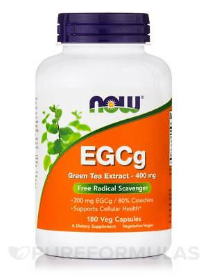 EGCg 400 mg - 180 Veg Capsules by NOW