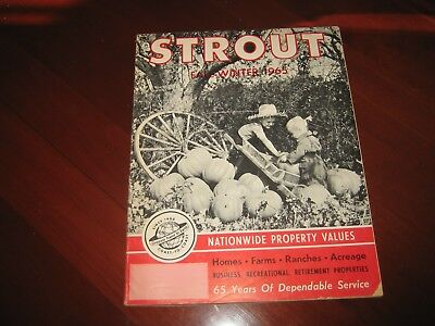Vintage Strout Property value catalog from 1965