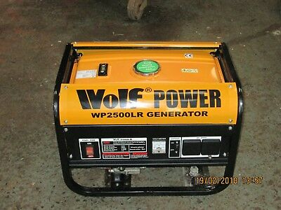 Wolf Power WP2500LR Generator