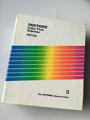 1987 Pantone Color Tint Formula Guide COATED & UNCOATED TINTS