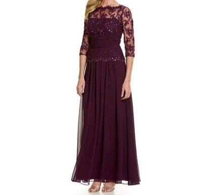 Wedding Mother Of Bride Or Groom Gown Nwt From Dillards Emma Steet
