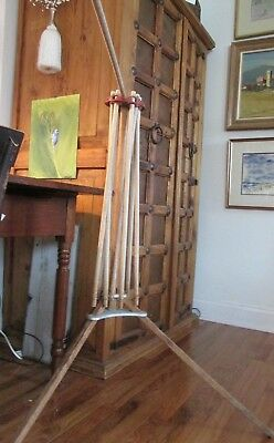 antique wooden clothes hanger dryer