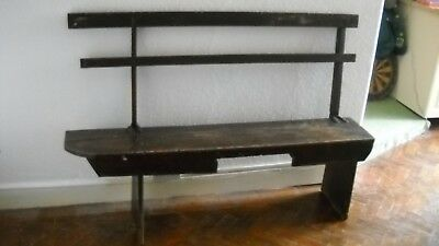 Antique Pine Church Pew School Bench's  pre victorian