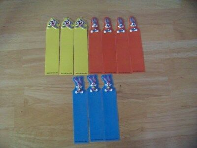 Looney Tunes Bookmarks, Tiny Toon, lot of 10