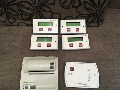 Intercall System Nursing Home Nurse Call Joblot Bundle Dpu 414 Printer