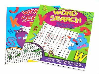 Kids A4 Size Puzzle Book - Contains Word Search Book