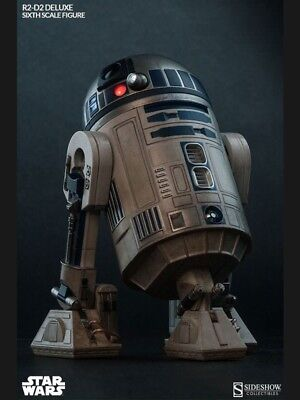 R2-D2 Deluxe Figure - Sideshow 1/6 Scale STAR WARS SS2172 17 cm