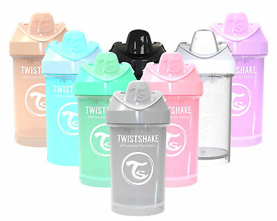 Twistshake Ergonomic, Spill-free, Fruit Infuser, Crawler Cup, 300ml Sippy Cup