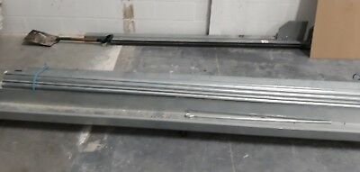 galvanised electric roller shutter door