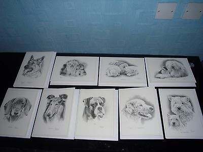 Dog Portrait Cards