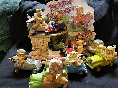 Cherished Teddies Teddies in Motion Series with Display