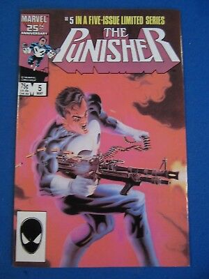 THE PUNISHER #5 NM 1986 Limited Series Marvel Comics