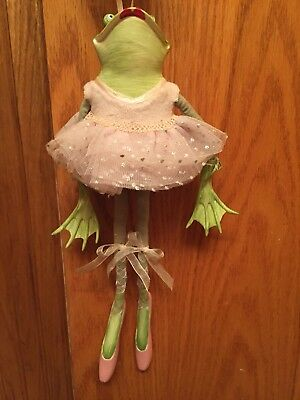 Department 56 Patience Brewster Ballerina Frog