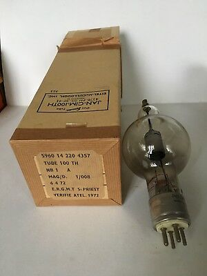 lampe tube Eimac usa jan cim 100 th sac 741
