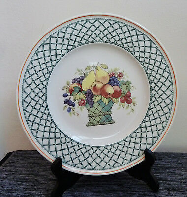 "Villeroy & Boch Basket 10.5"" Dinner Plate 1748 Country Collection**11 Available*"