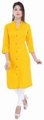 Indian Handmade Designer Women Ethnic Dress Top Tunic New Stylish Cotton Kurti