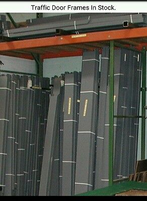 "72"" x 84"" Swinging Door Frames. Hollow Metal Knock Down Traffic Door Frames."