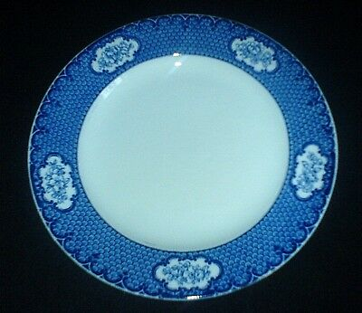 LOSOL WARE CRANFORD KEELING & CO LTD Blue/White 9 1/2 inch Plate x 1 ( 2 avail)