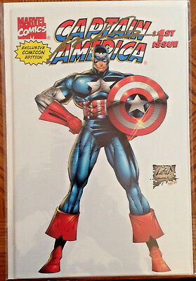 Captain America #1 1996 Marvel ComiCon variant cover edition by Rob Liefeld