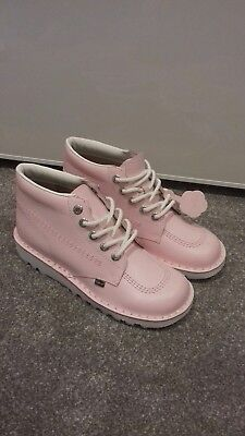 womens pink kickers shoes size 7