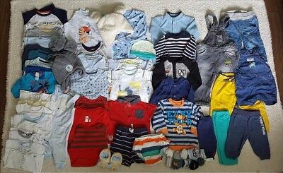 Baby BOY bundle sizes from 3-18m and 1jumper for 2 years.