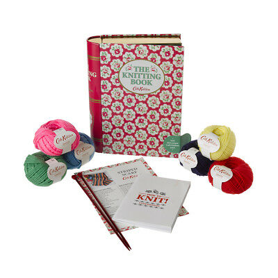 MOTHERS DAY? CATH KIDSTON The Knitting TIN make a scarf set in book design tin