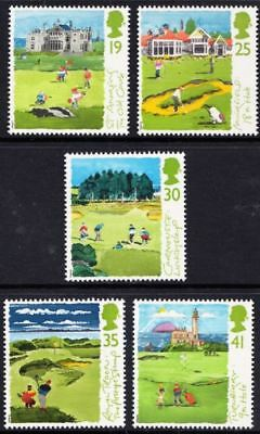 GB 1994 Scottish Golf Courses  Stamps, Complete Set  Mint