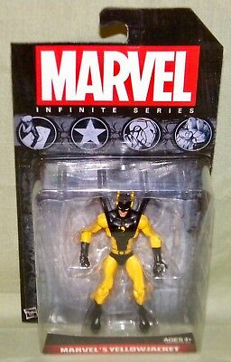 "Marvel Universe MARVEL'S YELLOWJACKET Infinite Series 2014 Wave 2 3.75"" FIGURE"