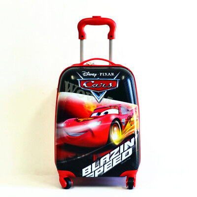 New Kid Gift Wheeled Rolling Suitcase Travel Bag Luggage Trolley ( 4-Wheel Car )