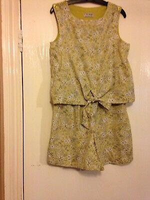 Girls Next Playsuit Age 7
