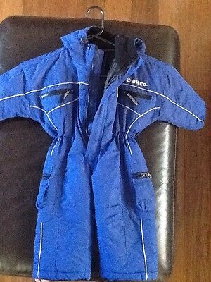 childs/toddler snow suit size 0
