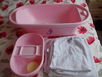 Baby girl Bath starter pack