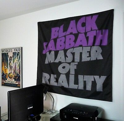 BLACK SABBATH  Master of Reality HUGE 4X4 BANNER poster tapestry cd album cover
