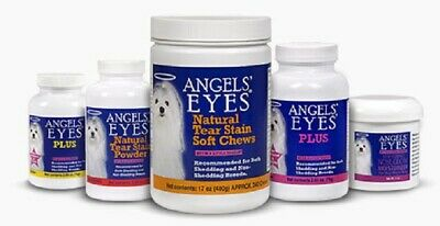 Angels Eyes Tear Stain Remover Wipes Solution Or Chews For Pets Choose One