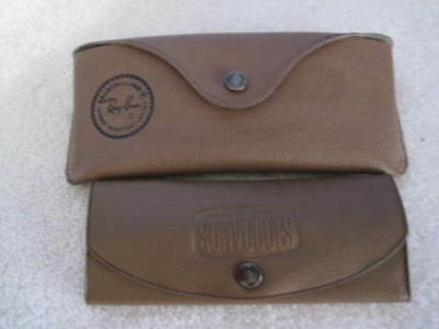 Ray Ban Bausch & Lomb & American Optical Sunvoges Sunglass Cases