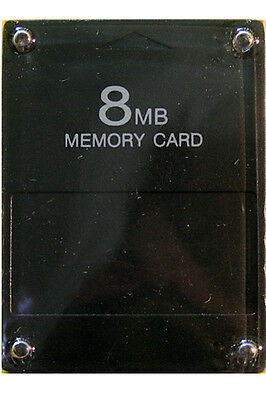8 MB Memory Card für SONY PlayStation 2 PS2 (8MB) PP *NEU/OVP