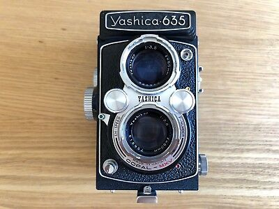 Yashica 635, Twin Lens Reflex TLR Camera