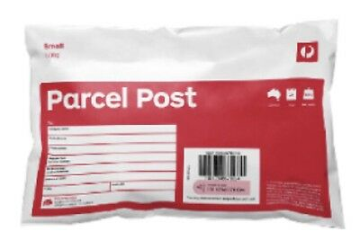 10 X 500g Australia Post Prepaid Satchels-Sent Same Business Day Before 4pm EDST