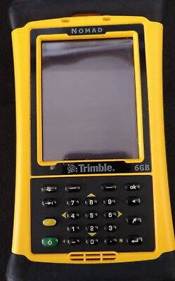 Trimble Nomad 800GLC Data Collector 6GB GPS with Camera Yellow Tested Works
