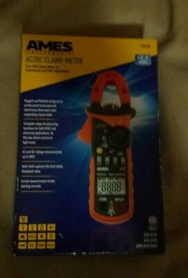 Ames Instruments AC/DC Clamp Meter - CM610A CATlll 600V