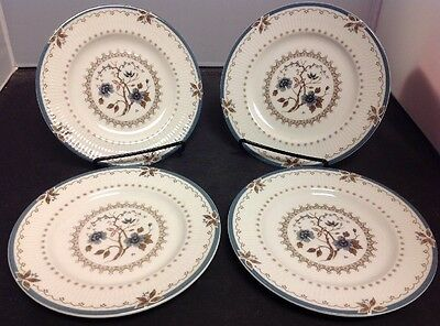 "Set of 4 Royal Doulton Old Colony 6.5"" Bread Plates"