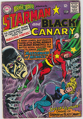 The Brave and the Bold      # 61        1965          VG