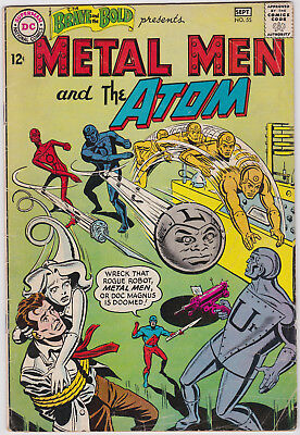 The Brave and the Bold      # 55        1964          VG