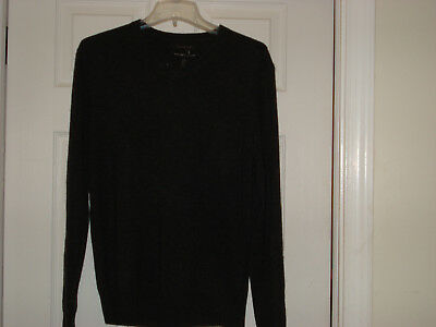 TAHARI MENS PURE Luxe 100% Cashmere Sweater Size Large Nwt